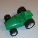Galanite made in sweden green plastic racing car